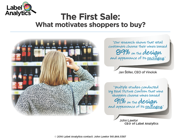 The First Sale: What motivates wine shoppers to buy?
