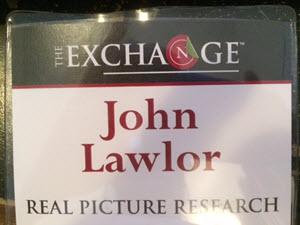 John Lawlor badge The Exchange June 2016